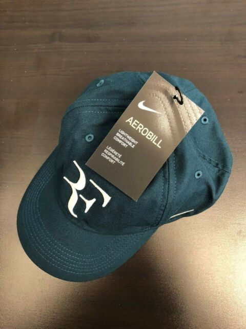 New Nike RF Roger Federer Hat Cap Volt Tennis  Dri Fit 371202-704