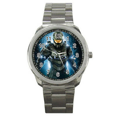 Halo 4 Game Gaming Wrist Watches New