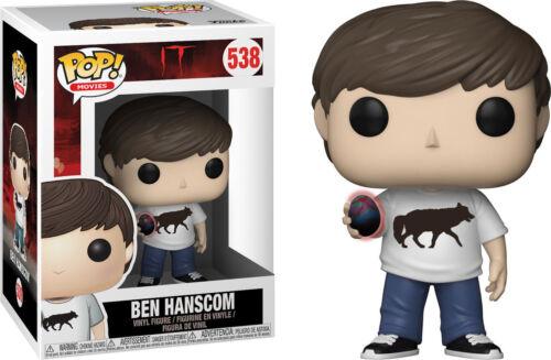 IT Ben Hanscom with Burnt Egg Glow in the Dark Pop New in stock Vinyl