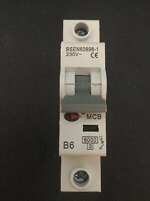 Lewden B6 6A 60898 MCB