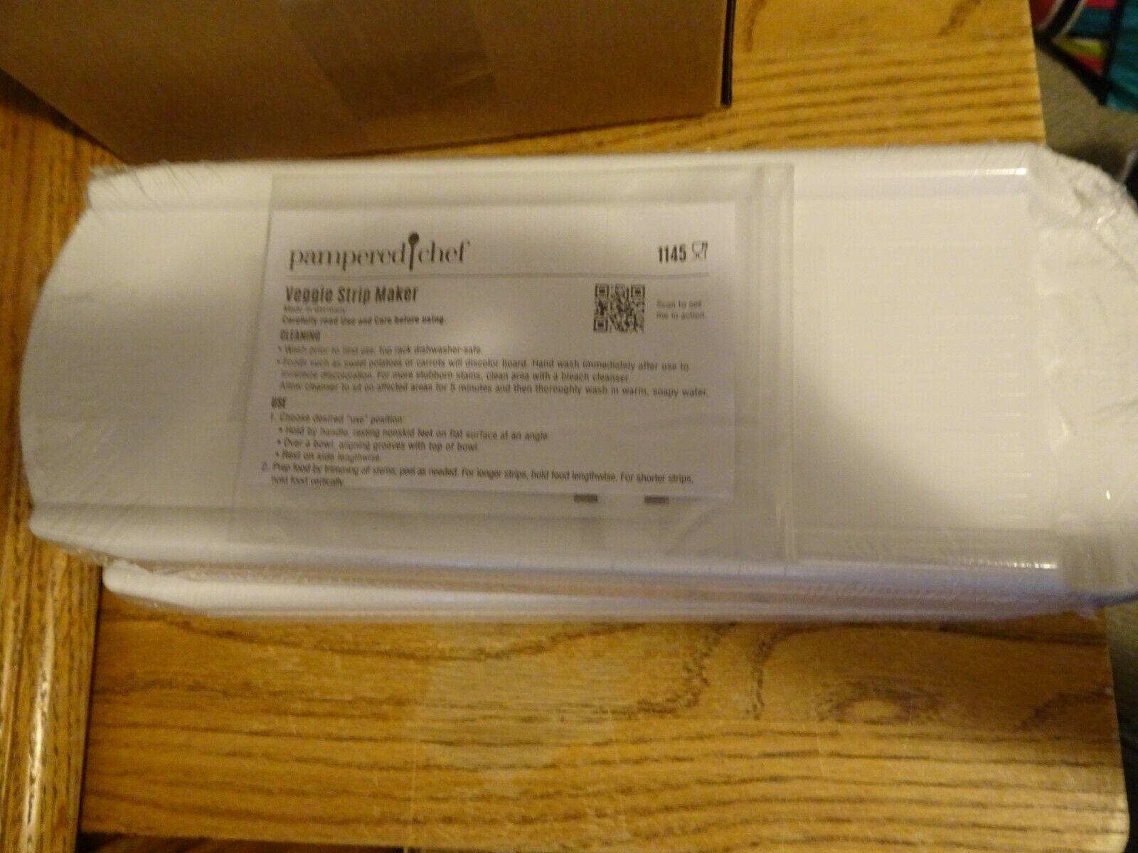 Pampered Chef Veggie Strip Maker #1145 Free Shipping