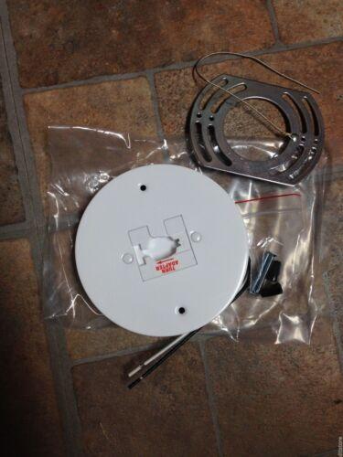 ConTech Lighting LA-18-P Line Voltage Mono Point Track Head Adapter White