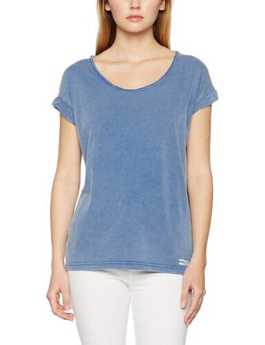 Femme Billabong Essentiel à manches courtes T-shirt Tee Costa Bleu Taille S UK