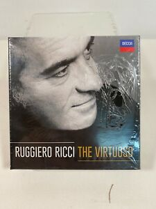 RICCI-RIGGIERO-VIRTUOSO-ITA-US-IMPORT-CD-NEW