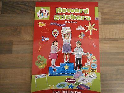 STICKER BOOK WITH OVER 1000 STICKERS*SCHOOL**CRAFT**REWARDS**