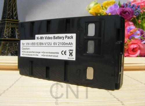 Battery pack For BN-V12U BN-V10U JVC GR-AX35 GR-M7 GRFX11 GRFX12 FX16E Camcorder