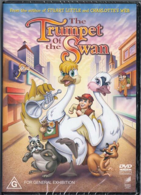 THE TRUMPET OF THE SWAN  - NEW & SEALED REGION 4 DVD - FREE LOCAL POST