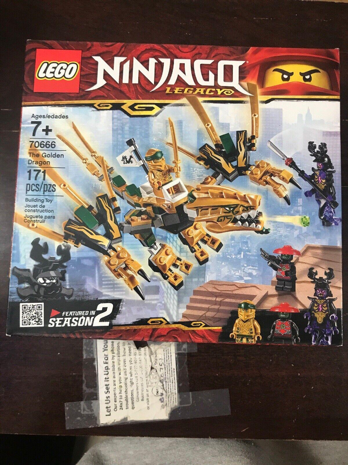 Lego 70666 The Golden Dragon Ninjago Legacy Brand New 2019*A1*