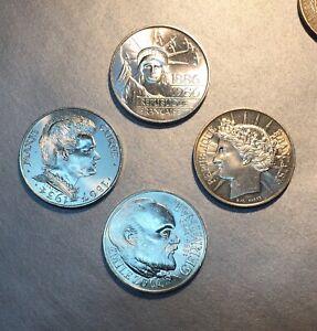 100 Francs Curie 1984 / Zola 195 / Statue Liberte 1986 / Ceres 1988 - Lot. Toujours Acheter Bien