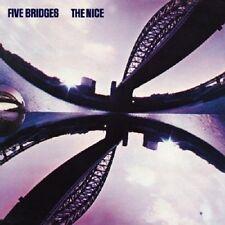 The Nice Five Bridges CD+Bonus Tracks NEW SEALED 2009 Remaster Keith Emerson