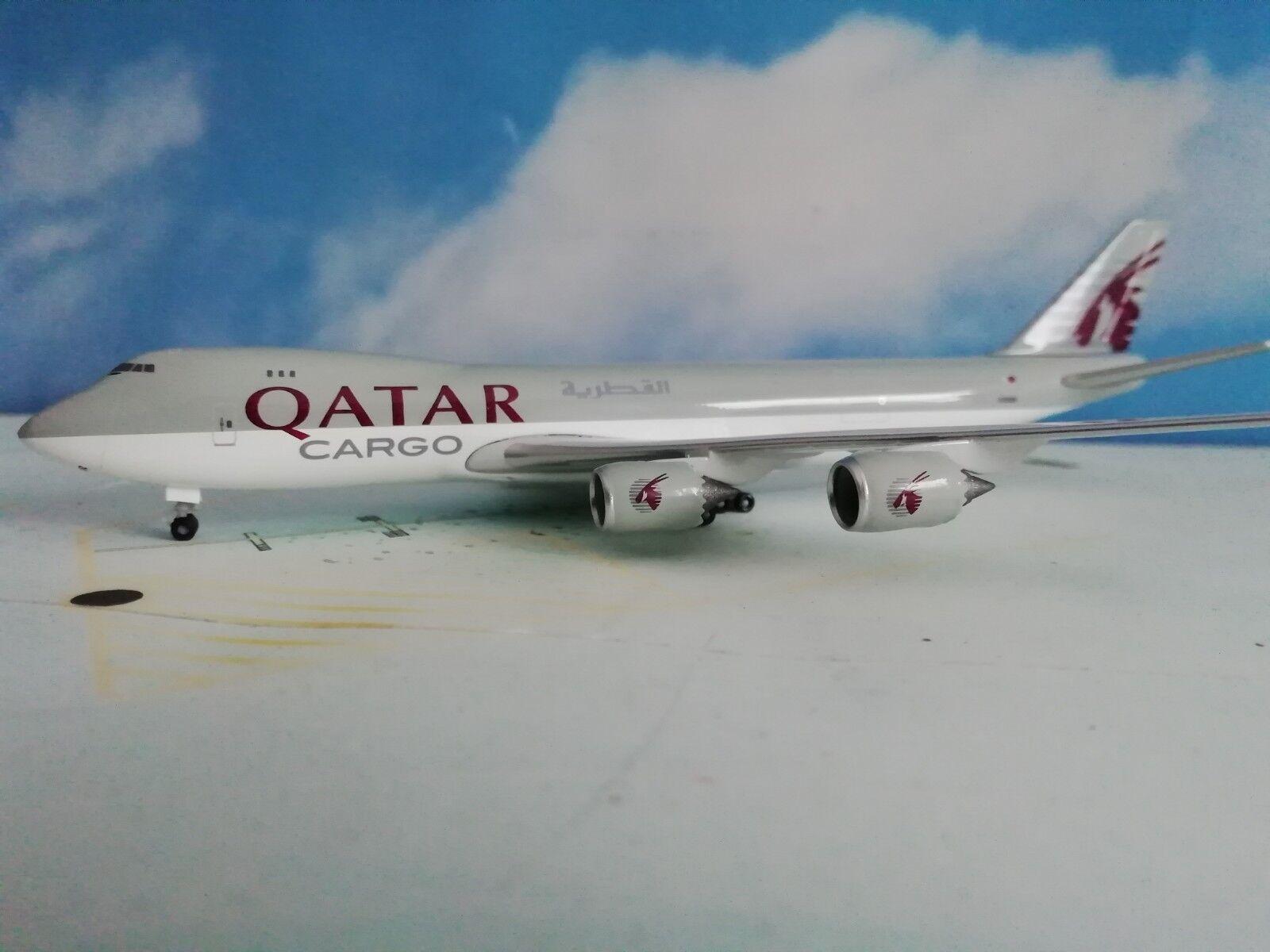 Herpa Wings 1 500 531993  Qatar Airways Cargo Boeing 747-8F    Guter weltweiter Ruf