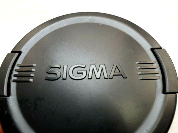 IndéPendant Sigma 77mm Avant Lentille Casquette Snap On Type Authentique Original Ex Apo Lcf