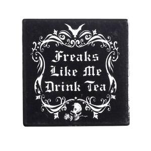 Freaks-Like-Me-Drink-Tea-Ceramic-Coaster-Alchemy-Gothic-CC5