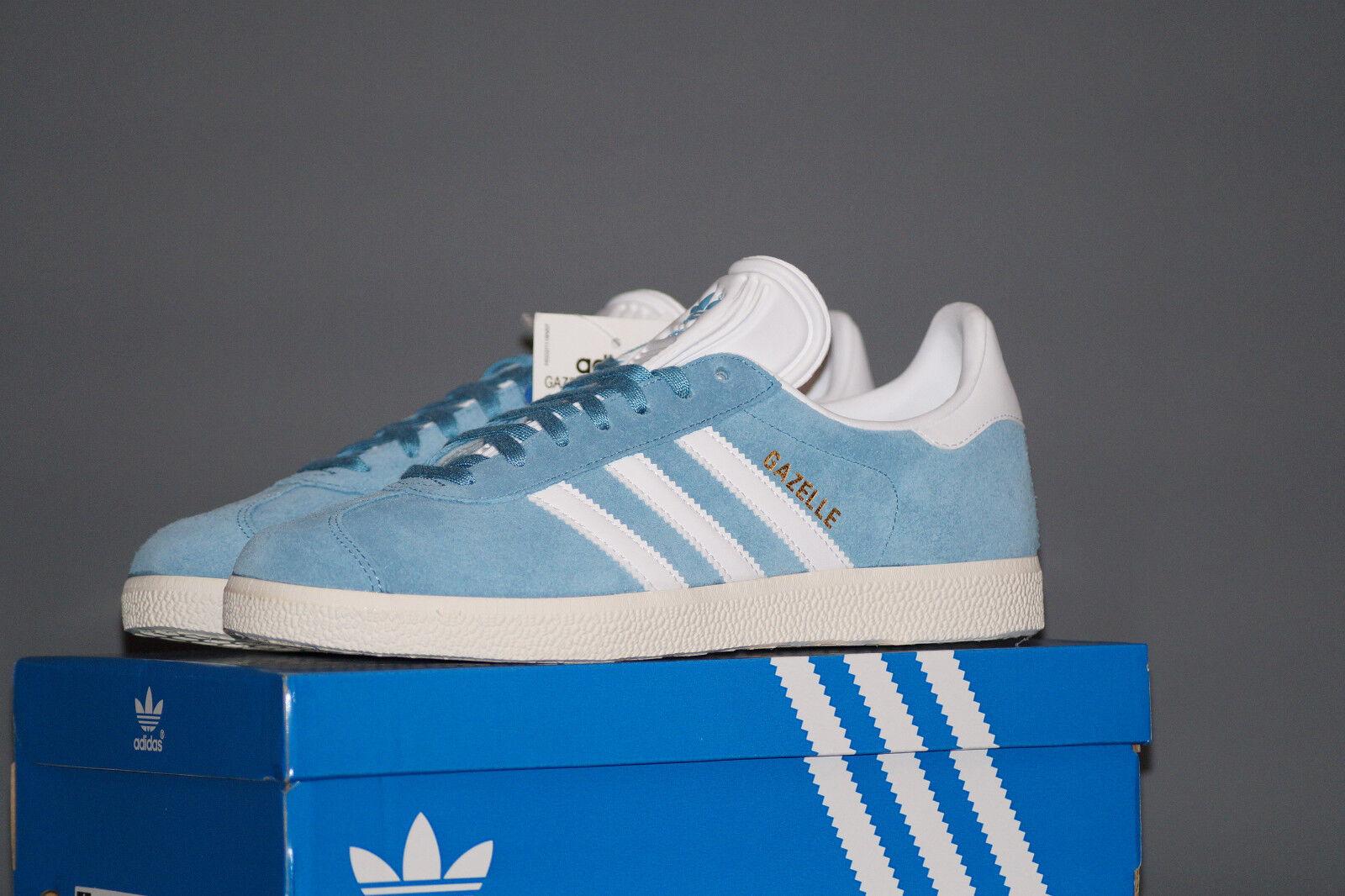 Adidas Originals gacela UE 37.3 UK 4.5 azul pálido bz0022 serraje Suede zapatillas
