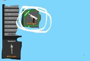 Read Desc Cheap Best Price Roblox Mmx Gun White Luger