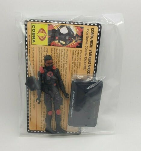 G.I.Joe Gijoe Collectors Club Exclusive Female Night Stalker Ethnic New ShipFree