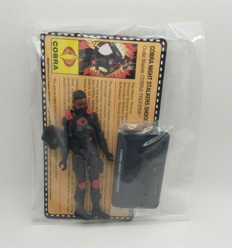 G.I.Joe Gijoe Collectors Club Exclusive Female Night Stalker Ethnic New ShipFree