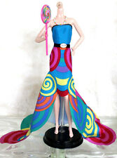 Adorable Barbie Doll Colorful Candy Gown, For Model Muse, Basic, Newly De-Boxed