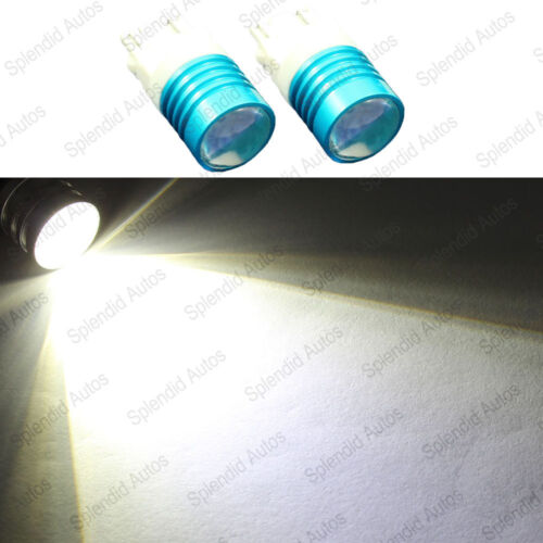 2 PCS Xenon White CREE 3156 3157 3757 4114 4157 LED Daytime Running Light Bulbs