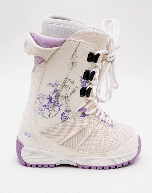 New  Thirty Two NOVA Women's Snowboard Boot White Lavender 6.5 37