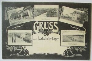 Grus-Aus-The-Lockstedter-Lager-Multiple-Image-Card-1908-Warehouse-Stamp-44261