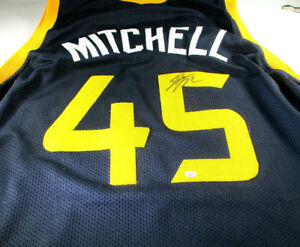 Image is loading DONOVAN-MITCHELL-HAND-SIGNED-UTAH-JAZZ-BLACK-CUSTOM- 1c84fedf5