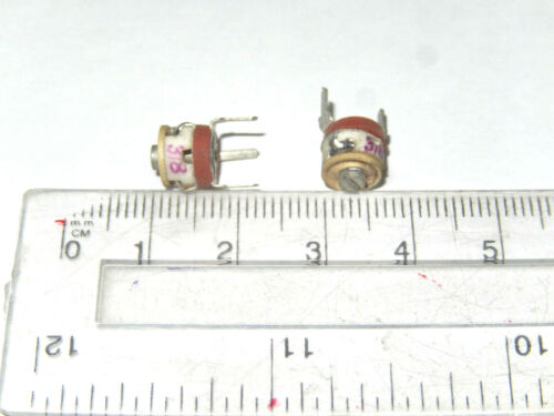 20 x Ceramic Military Trimmer Variable Capacitor 3-8pF