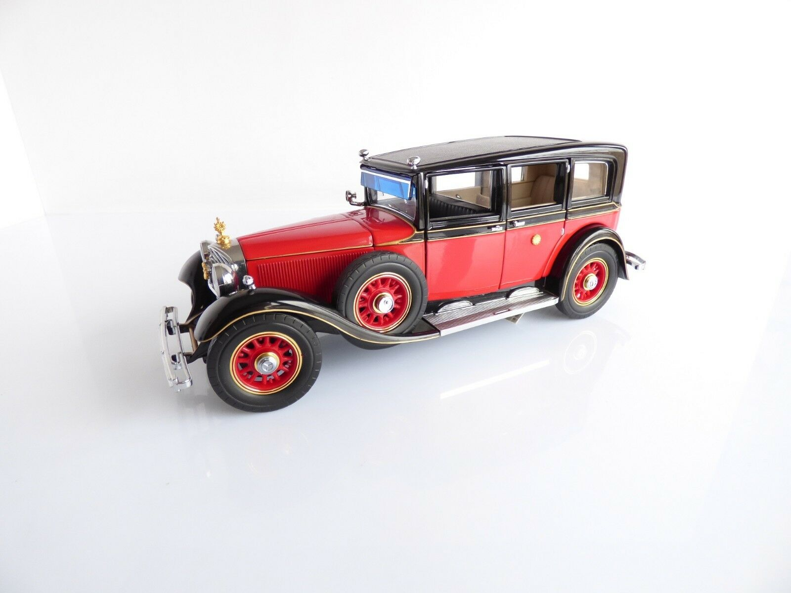 FRANKLIN MINT PRECISION MODELS VOITURE MERCEDES BENZ 770K PULLMAN ECHELLE 1 24