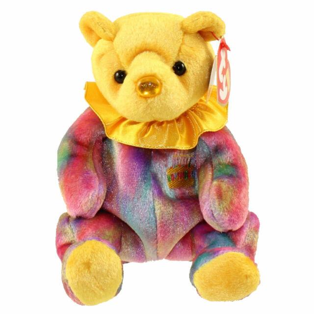 TY Beanie Baby NOVEMBER the Birthday Bear - MWMT/'s Stuffed Animal 7.5 inch