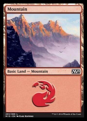 Mountain 265 MTG MAGIC 2015 M15 Eng//Ita 20x Montagna 265