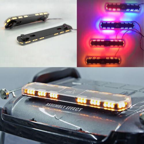 LED Roof Top Licht Warning Licht Brightness Lampe für TAMIYA RC Auto Truck 1:14