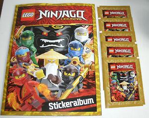 Lego-Ninjago-Legacy-Sticker-Album-de-scrapbooking-5-pochettes-NEUF-amp-neuf-dans-sa-boite