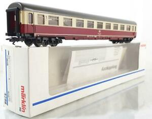 MARKLIN-4298-HO-DB-TEE-ICE-EXPRESS-PASSENGER-COACH-with-RED-TAIL-LIGHTS