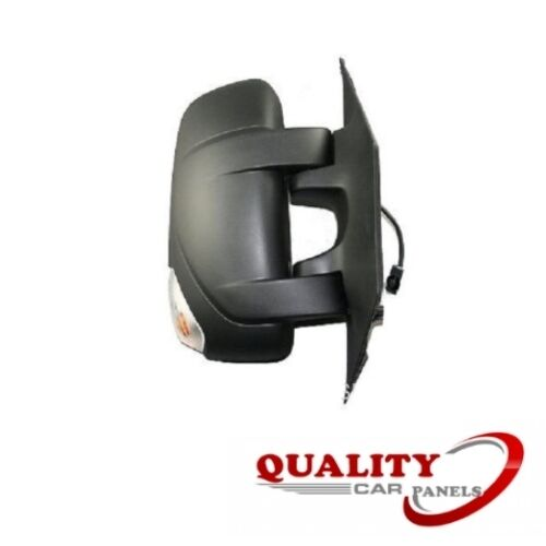Door Mirror Manual Black With Indicator O//S Right Renault Master 2010-2017 New