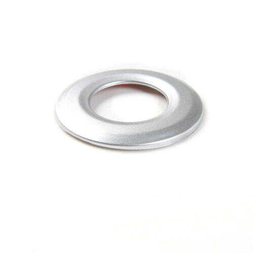 ABS Silver Car Tail Trunk Button Cover Trim Frame Ring for Chevrolet Camaro 2017