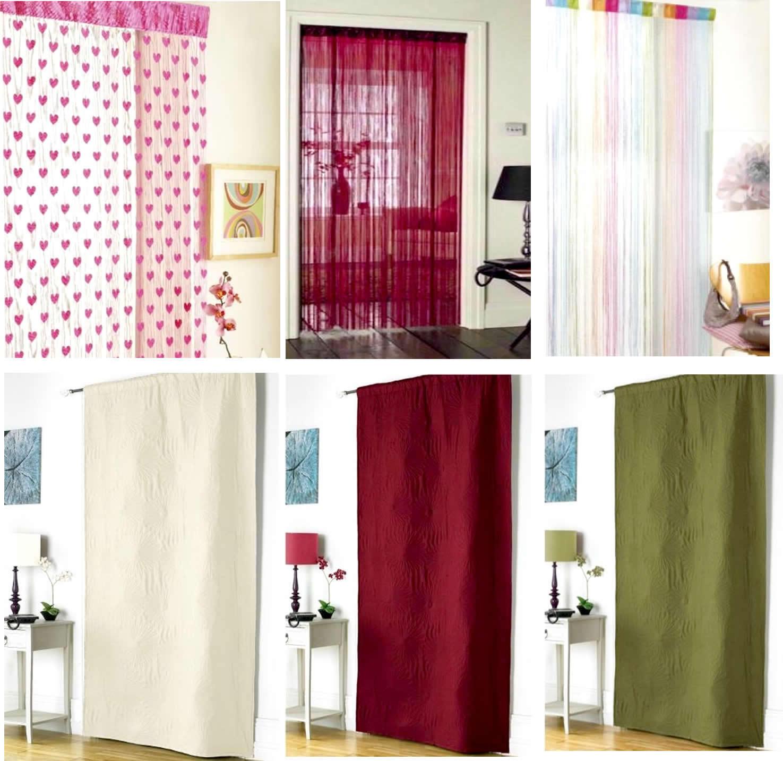 schnur net gepr gt thermo t r fliegengitter organizer zimmer vorhang dekor neu ebay. Black Bedroom Furniture Sets. Home Design Ideas