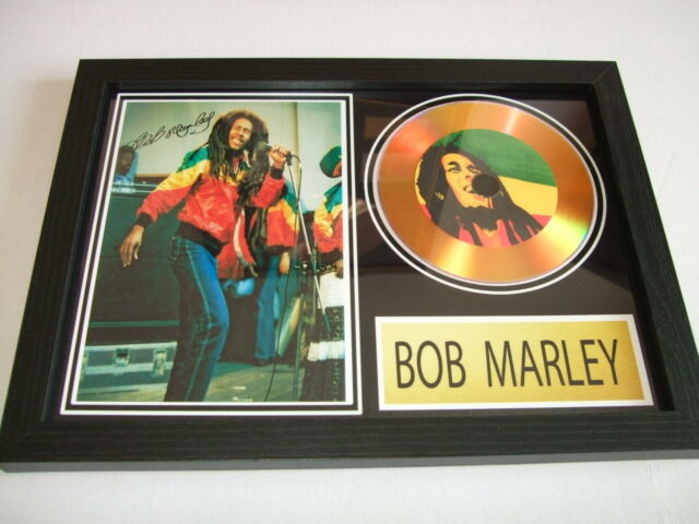 BOB MARLEY    SIGNED  GOLD CD  DISC 2
