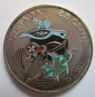 2017 CANADA 25 CENTS COLOURED 1867-2017 150TH ANNIVERSARY OF CANADA PROOF-LIKE