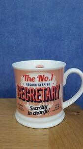 History amp Heraldry Diner Style Retro Mug Secretary - Stevenage, United Kingdom - History amp Heraldry Diner Style Retro Mug Secretary - Stevenage, United Kingdom