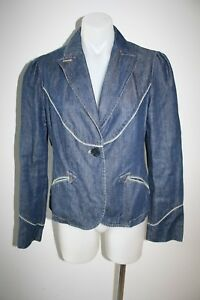 MARC-JACOBS-cute-fitted-denim-jacket-size-10-799-NEW