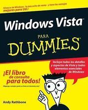 Windows Vista Para Dummies (Spanish Edition)-ExLibrary