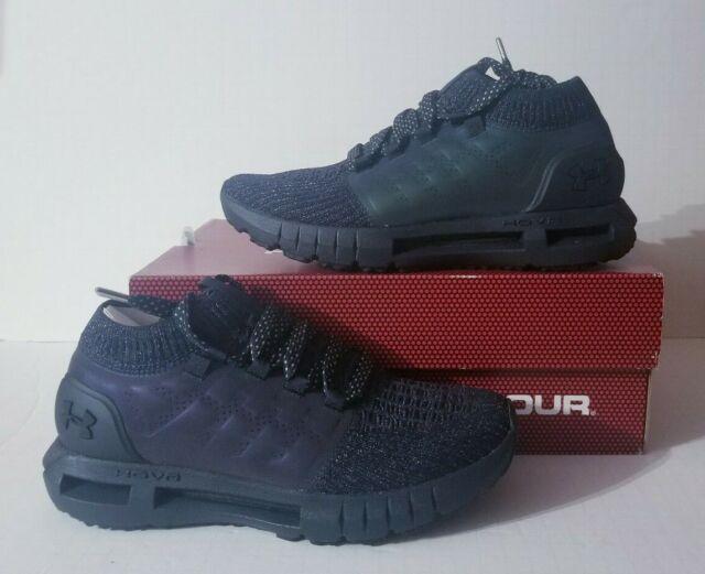 Under Armour UA Hovr Phantom SE Breathable shoes Running Shoe Black Gold