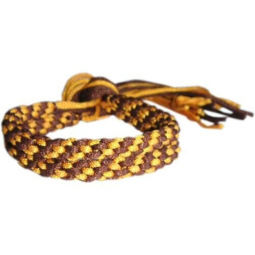 BROWN /& YELLOW THAI BOXE TRADITIONAL FIGHTER ARM BANDS