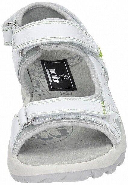 Manitu Damen Outdoor Schuhe Sandale Sandalette 910661-3 910661-3 Sandalette weiß Leder 1d0968