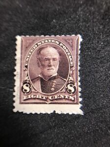 us-stamps-scott-257-MH-OG-Gum-Crease-See-Photos-Other-Defects