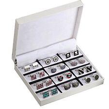Elegant Cufflink Gift Set Men's Cuff Links 12 Pack Wedding Party Gift Set