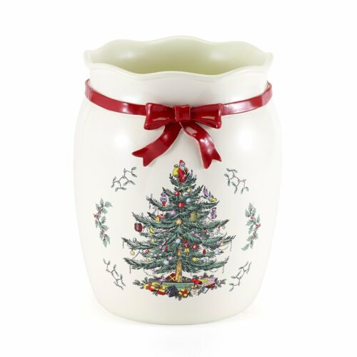 Spode Tree Red Wastebasket Red N//A