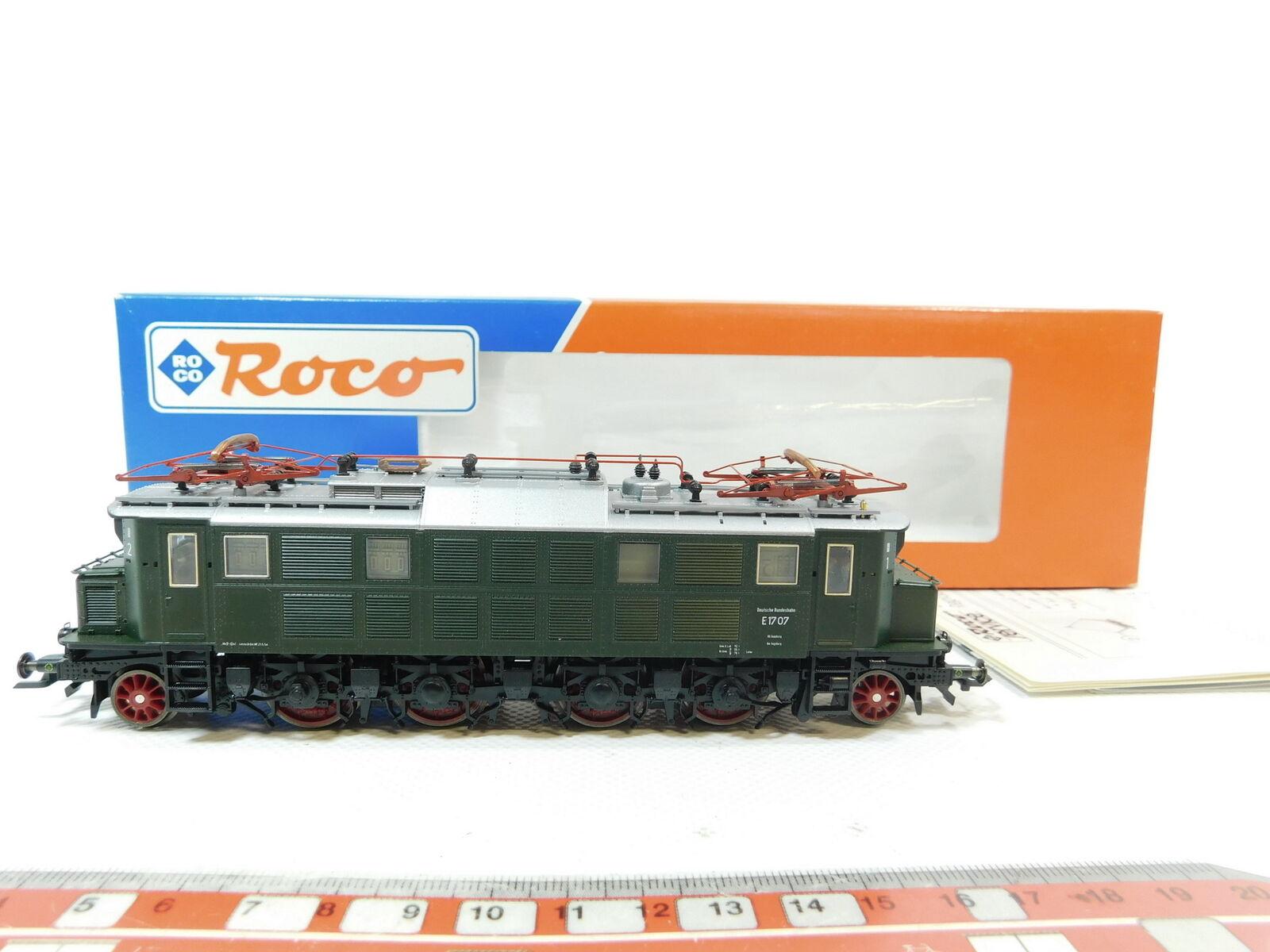 BG164-1   roco H0   Dc 43717 Locomotora Eléctrica Locomotora Eléctrica E 17 017