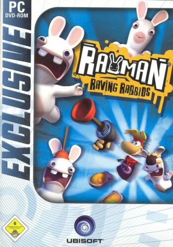 1 von 1 - Rayman Raving Rabbids   (PC, 2007 DVD Box in Deutsch)