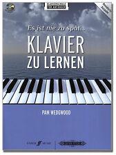 Es ist nie zu spät Klavier zu lernen - Klavierschule - EPF2001- 9790577008165